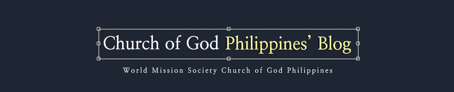 Church of God Philippines' Blog